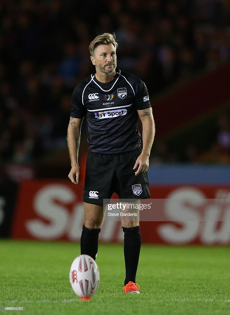 Rugby Aid 2015 Celebrity Rugby Match : News Photo