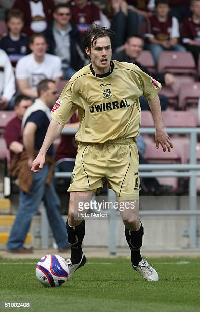 Robbie Stockdale of Tranmere Rovers in action during the Coca Cola League One Match between Northampton Town and Tranmere Rovers at Sixfields Stadium...