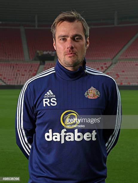 Robbie Stockdale pictured during the Sunderland Team photo shoot at the Stadium of Light on November 05 2015 in Sunderland England