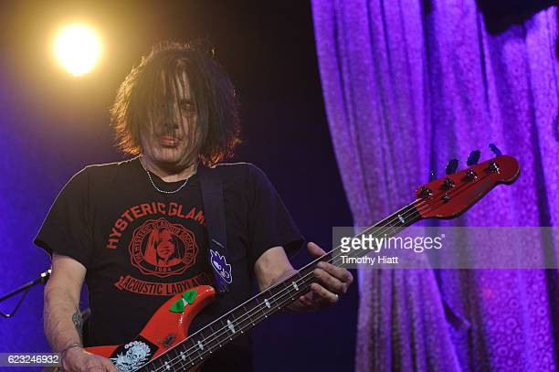 Robbie Takac of Goo Goo Dolls performs a private concert for Sirius XM at City Winery on November 14 2016 in Chicago Illinois