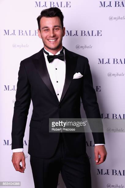 Robbie Tarrant attends the MJ Bale Brownlow Downlow at Crown Metropole Southbank on September 25 2017 in Melbourne Australia