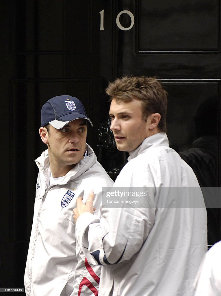 Soccer Aid ? Downing Street Reception