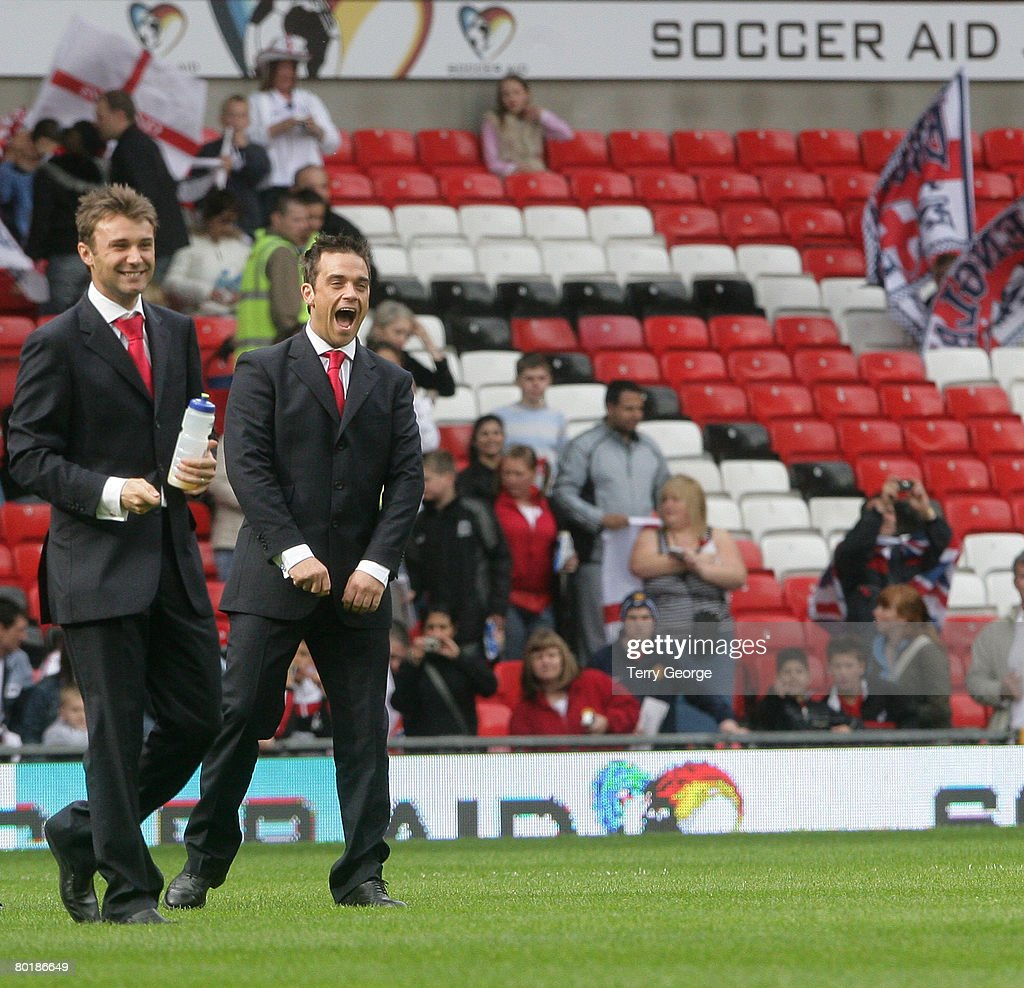 Soccer Aid - UNICEF & ITV1 Football Match - England vs The Rest of The World