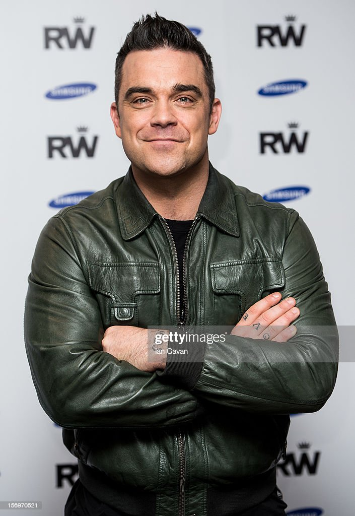 Robbie Williams: Special Announcement - Photocall