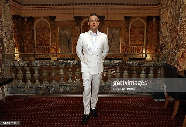 Robbie Williams attends the Attitude Awards 2016 at 8 Northumberland Avenue on October 10 2016 in London England