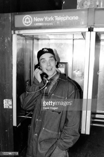 Robbie Williams of Take That in New York 1995