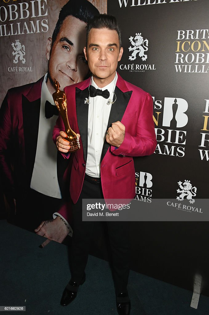 BRITs Icon Award Presented To Robbie Williams -  Show & Backstage