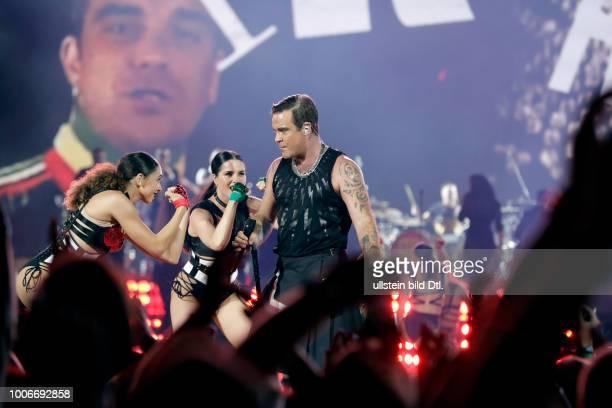 Robbie Williams The Heavy Entertainment ShowTour am 28 Juni 2017 in der ESPRITArena Düsseldorf