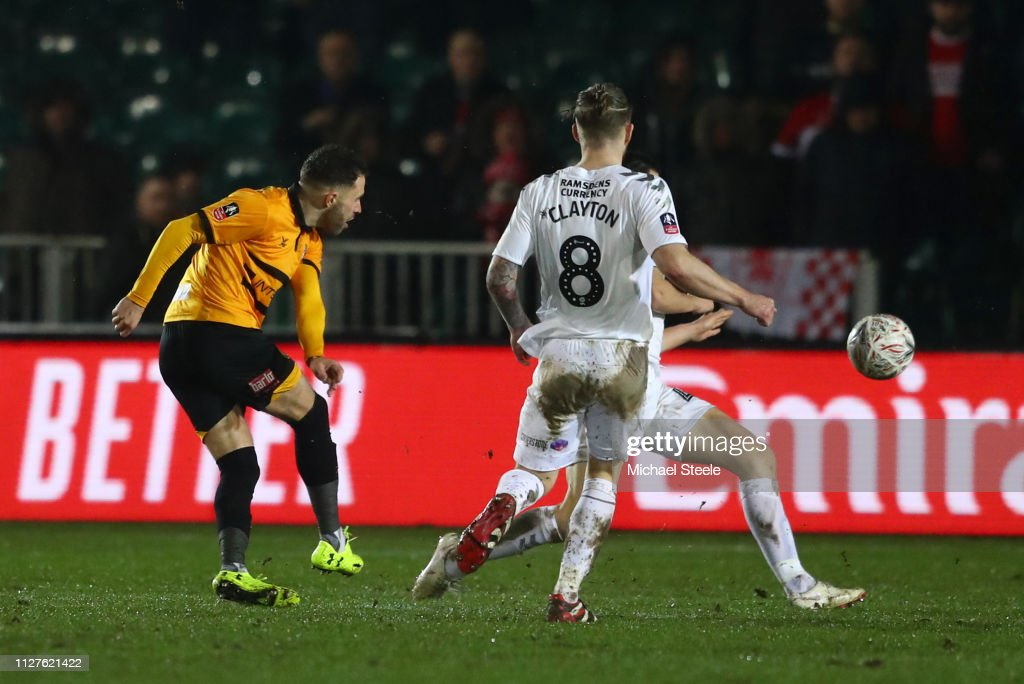 Newport County AFC v Middlesbrough - FA Cup Fourth Round Replay : News Photo