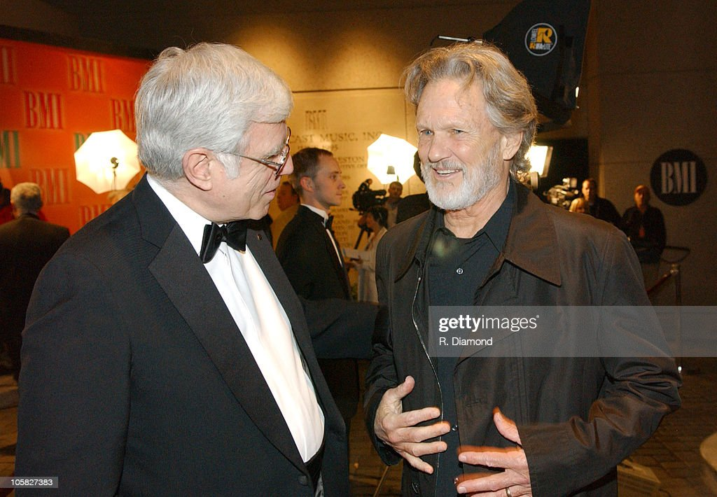 Robbin Ahrold, BMI and Kris Kristofferson during 52nd Annual BMI Country Awards - Arrivals in Nashville, Tennessee, United States.