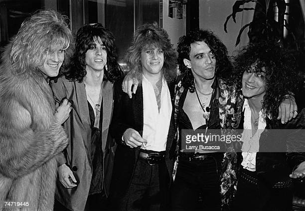 Robbin Crosby with the band Ratt in 1985 Crosby died at the age of 42 of AIDS complications at the Various Locations in New York NY