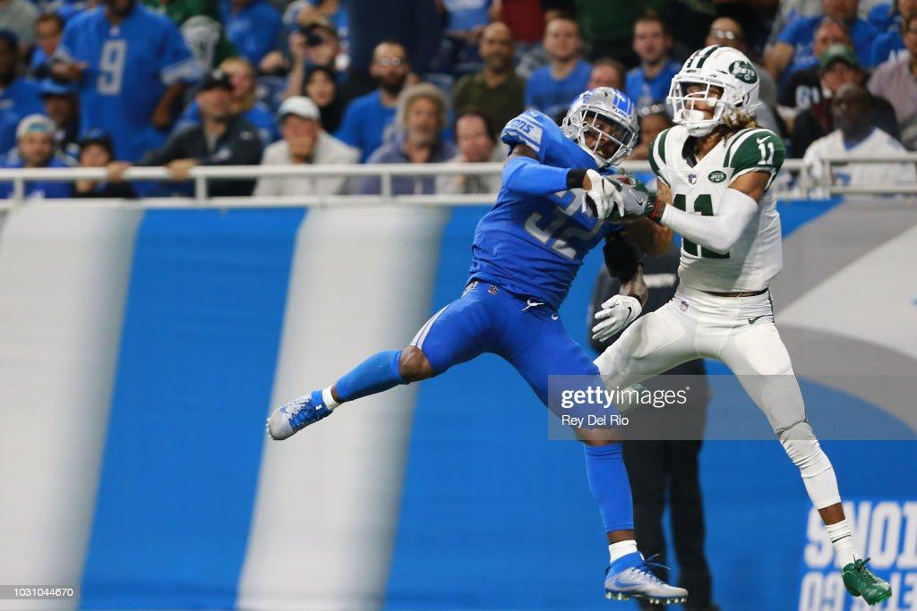 New York Jets v Detroit Lions : Fotografia de notícias