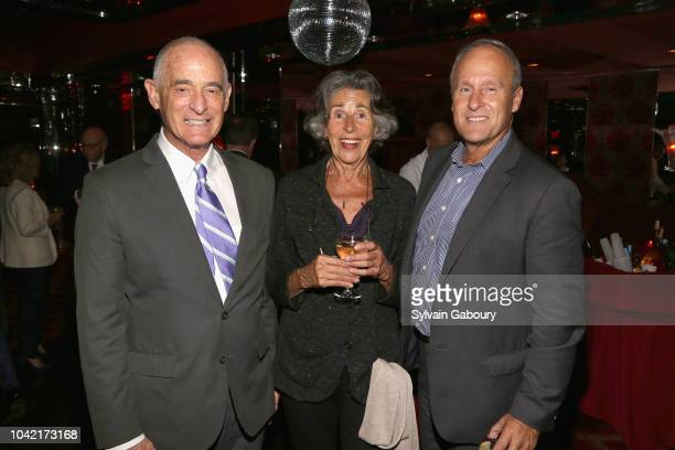 Robby Browne Anga Scallinga and Bill Cunningham attend David Patrick Columbia And Chris Meigher Toast The QUEST 400 At DOUBLES on September 27 2018...