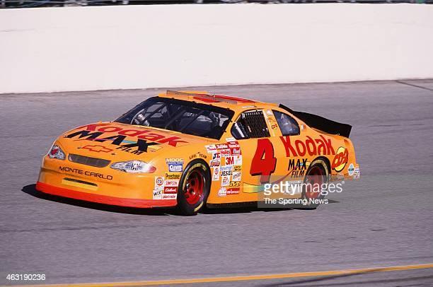 Robby Gordon drives his car during the Daytona 500 at the Daytona International Speedway on February 16 2001 in Daytona Beach Florida