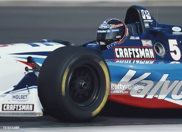 Robby Gordon of the United States drives the Valvoline Walker Racing Reynard 96i Ford XD V8t during the Championship Auto Racing Teams 1996 PPG Indy...