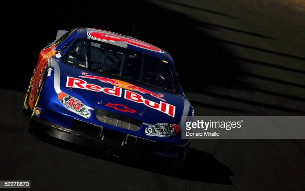 Robby Gordon of the USA drives his Red Bull Chevrolet Monte Carlo during the practice for the Telcel Mexico 200 Nascar Busch Series Race on March 4,...