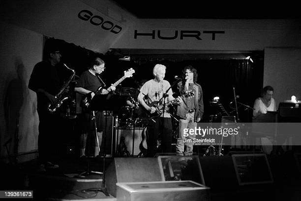 Robby Krieger and his band perform at the Good Hurt nightclub in Los Angeles California on September 27 2011