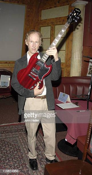 Robby Krieger at a chairty event to raise funds for Mindy's Memory Primate Sanctuary