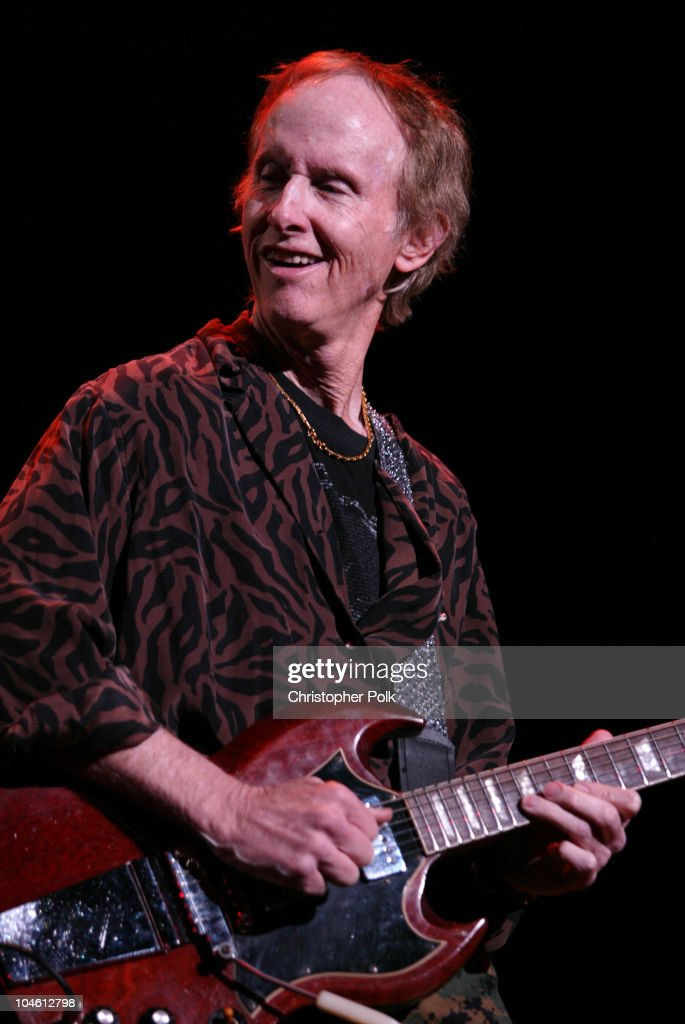 Robby Krieger during The Doors perform live at the Universal Amphitheater at Universal Amphitheater in Universal City, CA, United States.