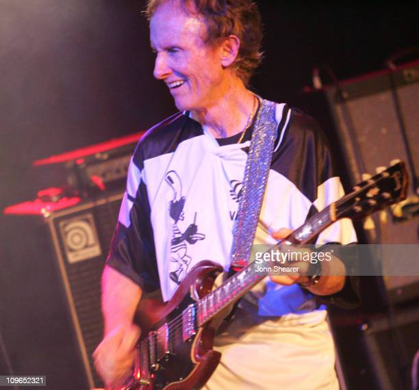 Robby Krieger of The Doors during The Doors 40th Anniversary Celebration Show and Backstage at Whisky A Go Go in Hollywood California United States