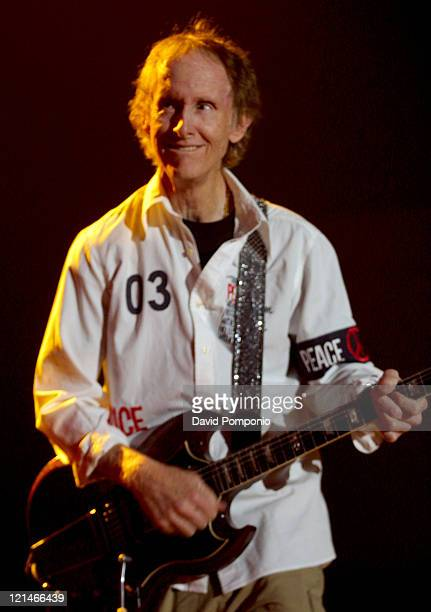 Robby Krieger of The Doors of the 21st Century during The Doors of the 21st Century in Concert May 5 2004 at Roseland Ballroom in New York City New...