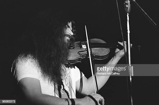 Robby Steinhardt performs live with Kansas at The Winterland Ballroom in 1975 in San Francisco California