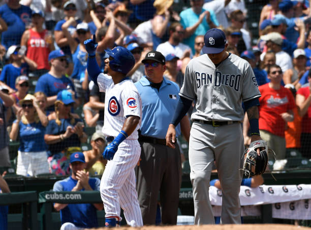 IL: San Diego Padres v Chicago Cubs