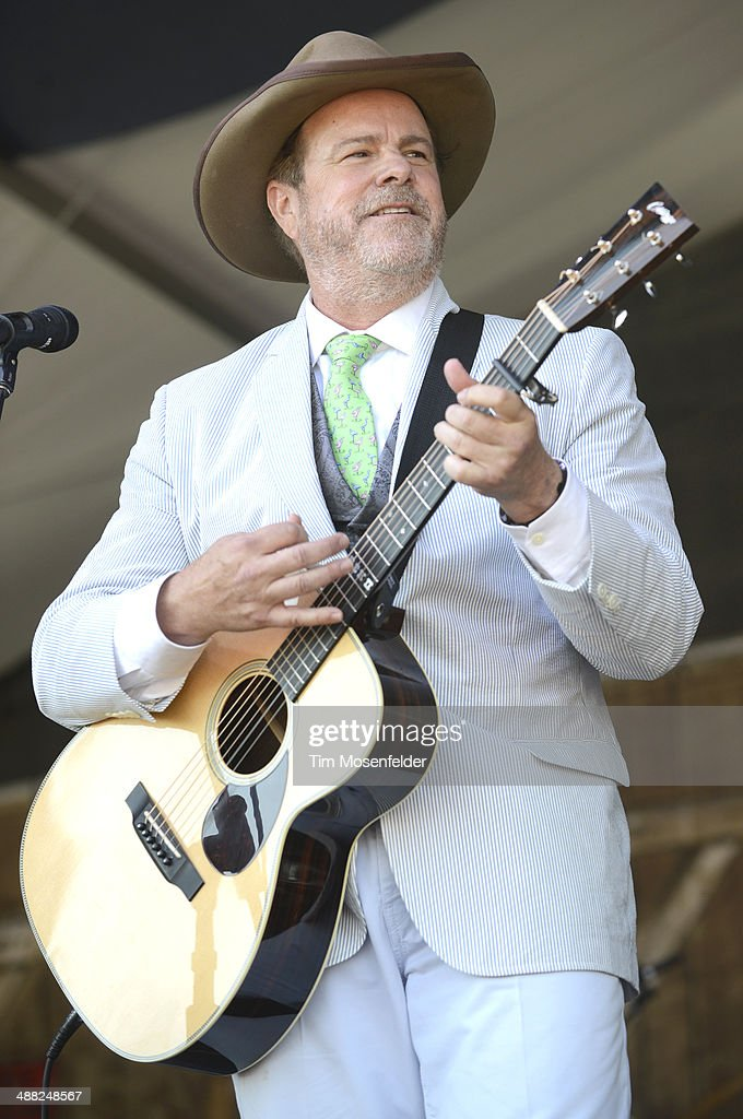 Rober Earl Keen performs during Day 7 of the 2014 New Orleans Jazz & Heritage Festival at Fair Grounds Race Course on May 4, 2014 in New Orleans, Louisiana.
