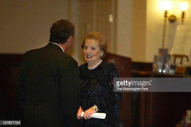 Robert A Reeder TWP The annual Gridiron Club dinner held at the Capital Hilton Past Secretary of State Madeleine Albright