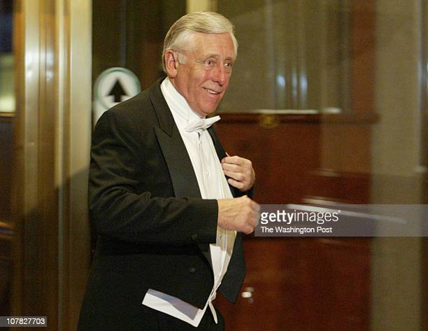 Robert A. Reeder TWP The annual Gridiron Club dinner held at the Capital Hilton. Rep. Steny Hoyer arriving.