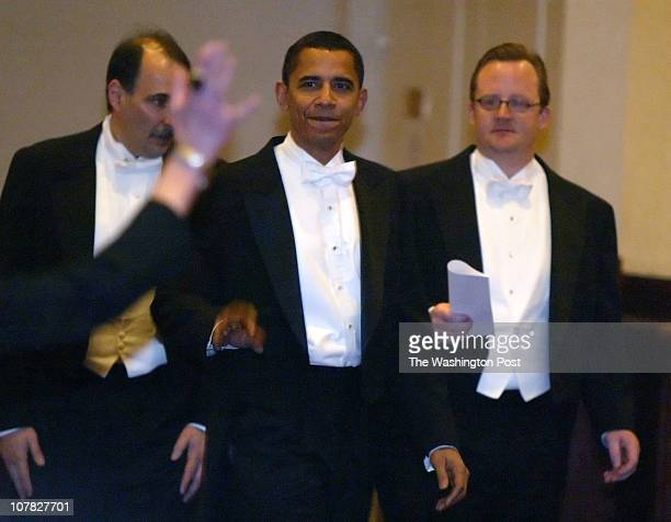 Robert A Reeder TWP The annual Gridiron Club dinner held at the Capital Hilton Sen Barack Obama arriving