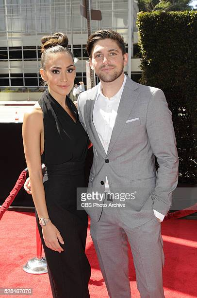 Robert Adamson and friend on the red carpet at THE 43RD ANNUAL DAYTIME EMMY AWARDS held on Sunday May 1 2016 in Los Angeles California
