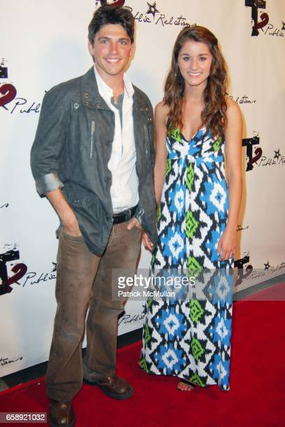 Robert Adamson and Olivia Mitchell attend the UnOfficial Rockin' PreParty Celebrating the 2009 Teen Choice Awards at the Hollywood Highland Center on...