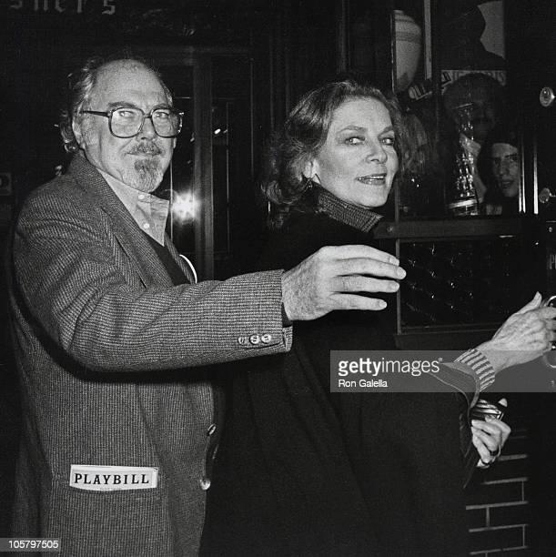 Robert Altman and Lauren Bacall during Lauren Bacall Sighted at Elaine's Restaurant at Elaine's Restaurant in New York City New York United States