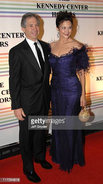 Robert Altman and Lynda Carter during 29th Annual Kennedy Center Honors at John F Kennedy Center for the Performing Arts in Washington DC United...
