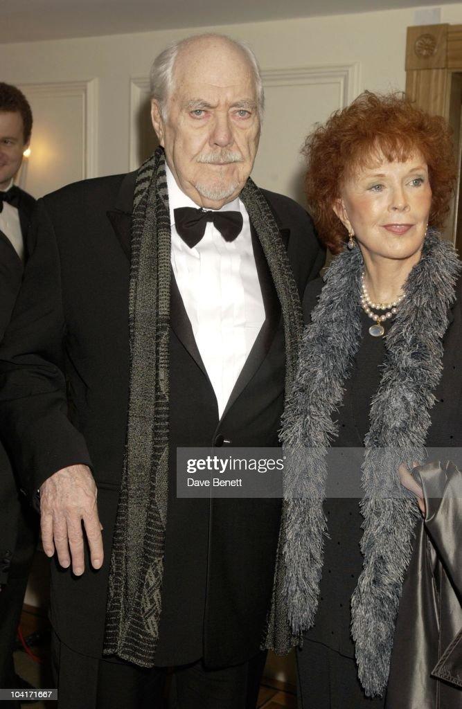 Robert Altman & Wife, Evening Standard Film Awards, At The Savoy Hotel, London