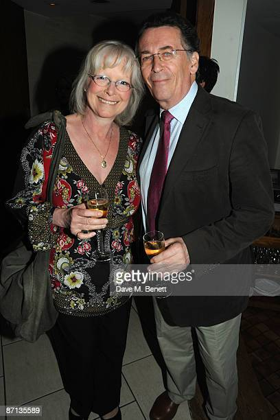 Robert and Babs Powell attend the first night after party of 'Duet For One' at One Aldwych on May 12 2009 in London England