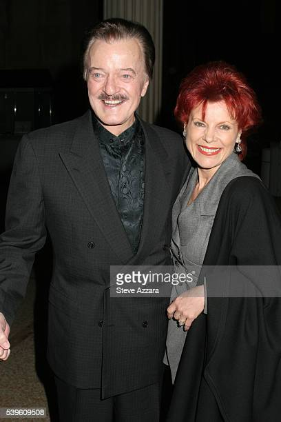 Robert and Vera Goulet at the premiere of the HBO MiniSeries Empire Falls in New York