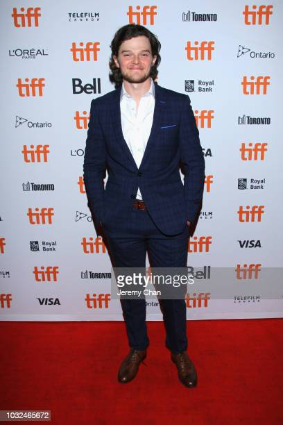 """Robert Aramayo attends the """"The Standoff At Sparrow Creek"""" premiere during 2018 Toronto International Film Festival at Ryerson Theatre on September..."""