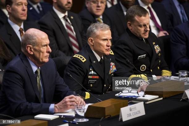 Robert Ashley director of the National Security Agency center testifies during a Senate Intelligence Committee hearing on worldwide threats in...