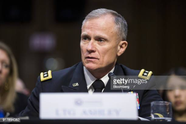 Robert Ashley director of the National Security Agency testifies during a Senate Intelligence Committee hearing on worldwide threats in Washington DC...