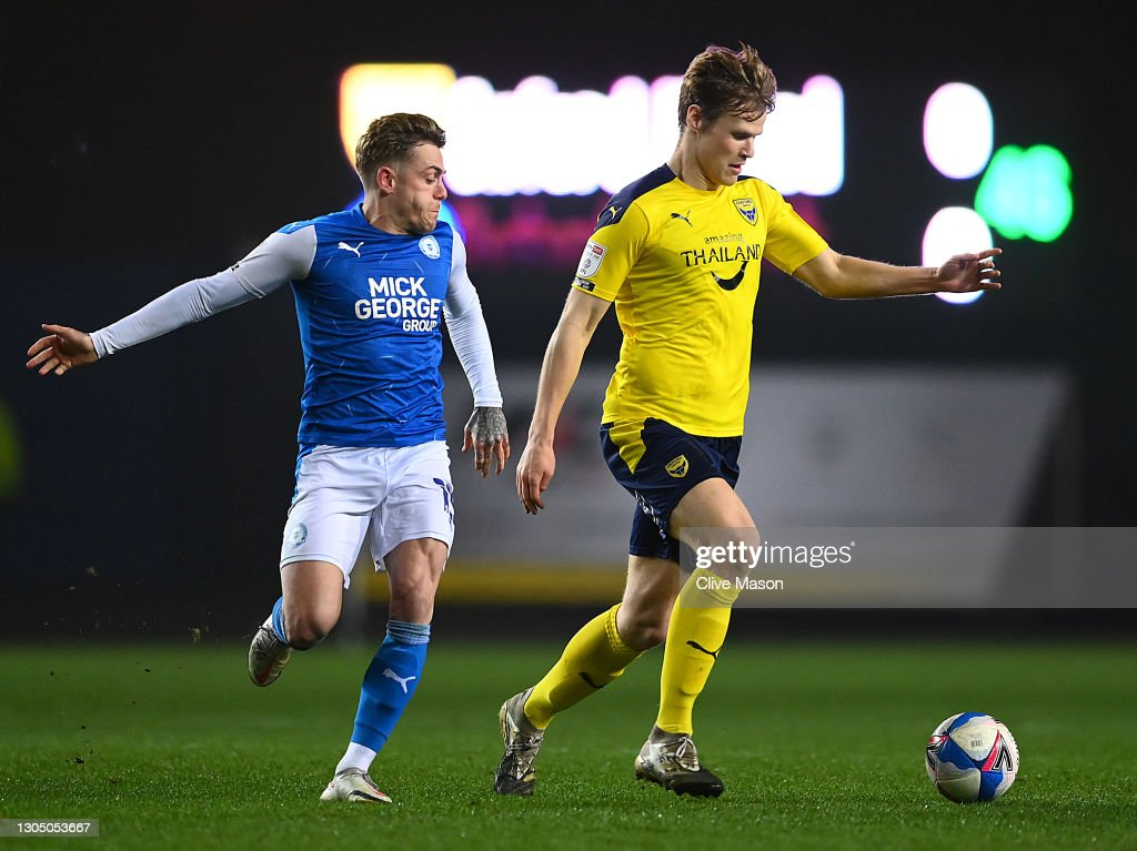 Robert Atkinson of Oxford United in action during the Sky Bet League...  News Photo - Getty Images