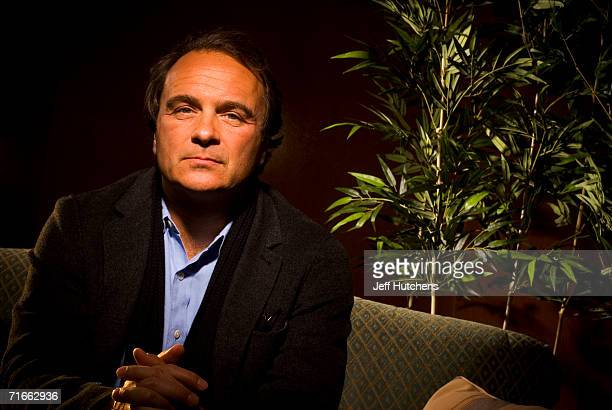 Robert Baer author of the book See No Evil The True Story of a Ground Soldier in the CIA's War on Terrorism is photographed in the lobby of the Four...
