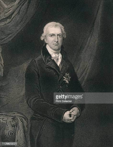 Robert Banks Jenkinson Earl of Liverpool' circa 1820 Portrait of British politician and Prime Minister Robert Jenkinson 2nd Earl of Liverpool Lord...