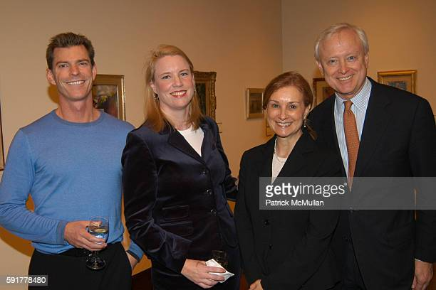 Robert Barr Danielle Jennings Anita Contini and Randall Bourscheidt attend Alliance for the Arts Friends of the Arts Party at Christie's on November...
