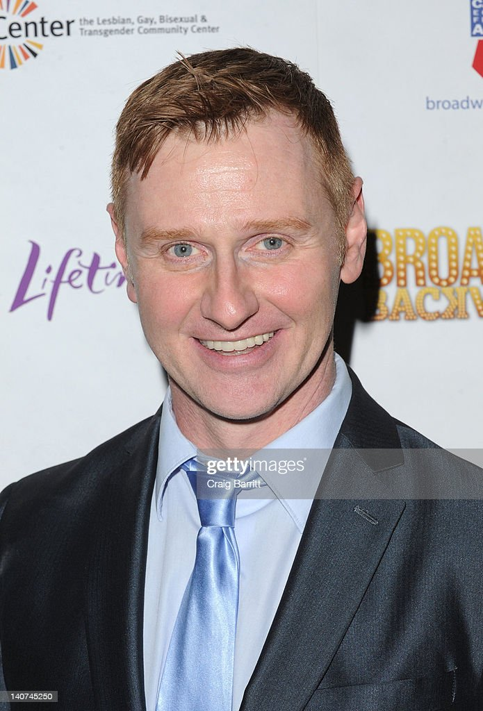 Robert Bartley attends Broadway Backwards 7 at the Al Hirschfeld Theatre on March 5, 2012 in New York City.