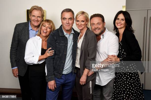 Robert Bathurst Fay Ripley James Nesbitt Hermione Norris John Thomson and Leanne Best attend the 'Cold Feet' series 7 special screening at The...