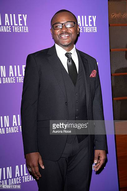 Robert Battle attends Alvin Ailey American Dance Theater Opening Night Gala Benefit 'An Evening of Ailey and Jazz' at New York City Center on...