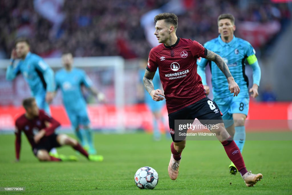 1. FC Nuernberg v Sport-Club Freiburg - Bundesliga : Nachrichtenfoto