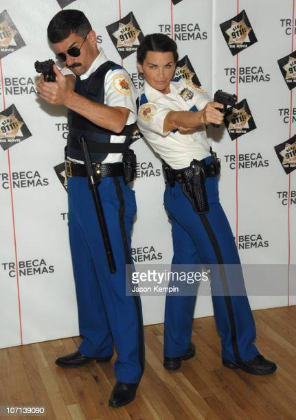"Robert Ben Garant and Mary Birdsong during The Tribeca Cinema Series Hosts a Special Screening of ""Reno 911!: Miami"" - February 21, 2007 at Tribeca..."